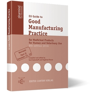 EU Guide to Good Manufacturing Practice for Medicinal Products for Human and Veterinary Use | Dodax.ch