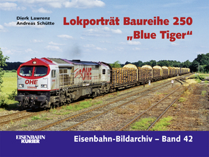 "Lokporträt Baureihe 250 ""Blue Tiger"" 