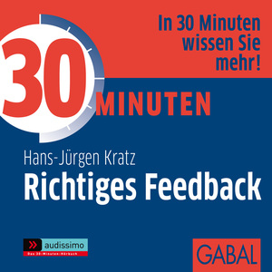 30 Minuten Richtiges Feedback, 1 Audio-CD | Dodax.at