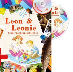 Leon & Leonie Kindergartengeschichten, m. Audio-CD | Dodax.at