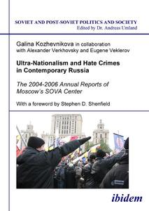 Ultra-Nationalism and Hate Crimes in Contemporary Russia | Dodax.at