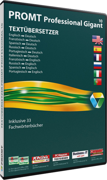 PROMT Professional 10 Gigant, DVD-ROM | Dodax.at