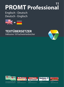 PROMT Professional 11 Englisch-Deutsch, 1 DVD-ROM | Dodax.at
