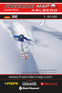 Freeride Map Arlberg | Dodax.de