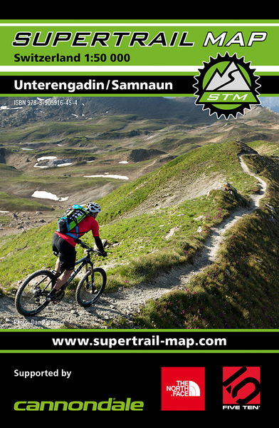 Supertrail Map Unterengadin / Samnaun | Dodax.pl
