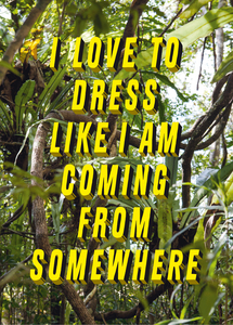 I love to dress like I am coming from somewhere and I have a place to go | Dodax.at