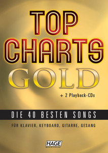 Top Charts Gold + 2 Playback CDs | Dodax.pl