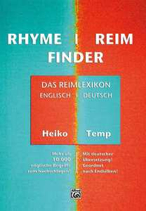 Rhyme / Reim Finder | Dodax.de