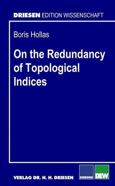 On the Redundancy of Topological Indices | Dodax.ch