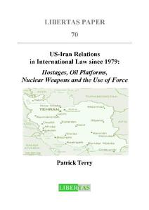 US-Iran Relations in International Law since 1979 | Dodax.at
