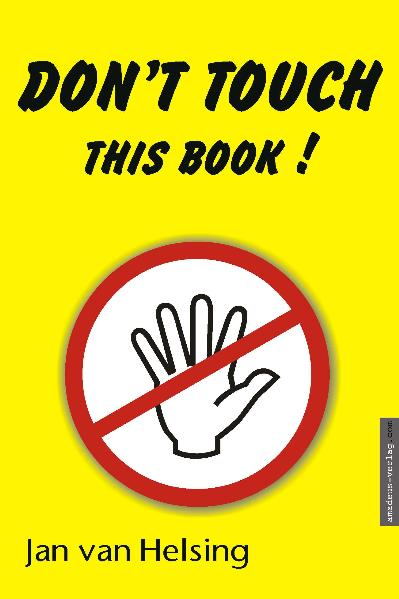 Don't touch this book! | Dodax.at
