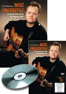 Basic Fingerstyle, Gitarrenworkshop, 1 DVD u. Begleitheft | Dodax.at