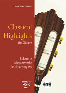 Classical Highlights, für Gitarre, m. Audio-CD | Dodax.at