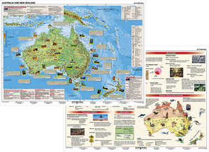 Stiefel Basic Facts about Australia. Stiefel Australia and New Zealand, DUO-Schreibunterlage | Dodax.ch
