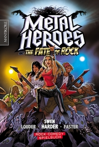 Metal Heroes and the Fate of Rock, m. Audio-CD | Dodax.ch