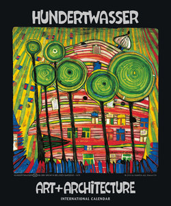 Hundertwasser International Calendar Art + Architecture | Dodax.at