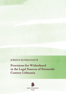 Provisions for Widowhood in the Legal Sources of Sixteenth-Century Lithuania | Dodax.ch