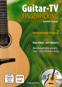 Guitar-TV: Fingerpicking - Internationale Songs, m. DVD. Tl.2 | Dodax.ch