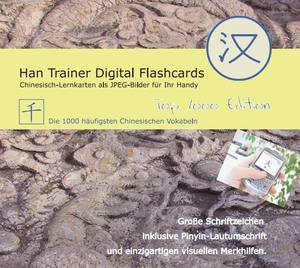Han Trainer Digital Flashcards: Virtuelle Lernkarten Chinesisch-Deutsch, CD-ROM | Dodax.ch