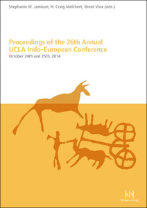 Proceedings of the 26th Annual UCLA Indo-European Conference   Dodax.at