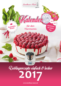 Kalender für den Thermomix 2017 | Dodax.at