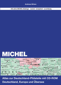 Michel-Atlas zur Deutschland Philatelie, m. CD-ROM | Dodax.ch
