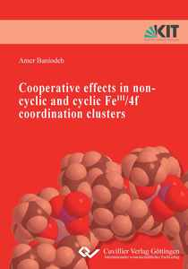 Cooperative effects in non-cylic and cyclic FeIII/4f coordination clusters | Dodax.ch
