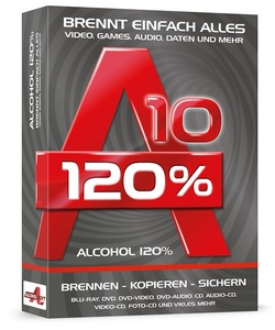 Alcohol 120% 10, CD-ROM | Dodax.ch