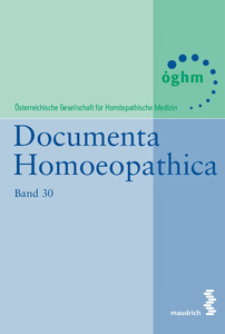 Documenta Homoeopathica | Dodax.at