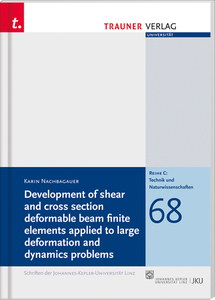 Development of shear and cross section deformable beam finite elements applied | Dodax.pl