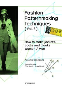 FASHION PATTERNMAKING TECHNIQUES [ Vol . 3 ] | Dodax.pl