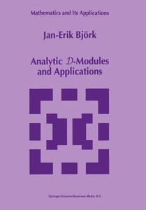 Analytic D-Modules and Applications | Dodax.at