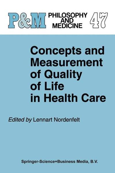 Concepts and Measurement of Quality of Life in Health Care   Dodax.pl