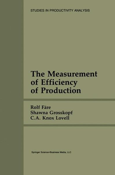 The Measurement of Efficiency of Production | Dodax.pl