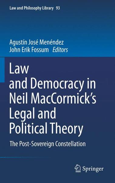 Law and Democracy in Neil MacCormick's Legal and Political Theory | Dodax.ch