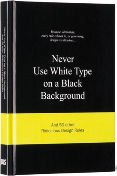 Never Use More White Type on a Black Background | Dodax.de