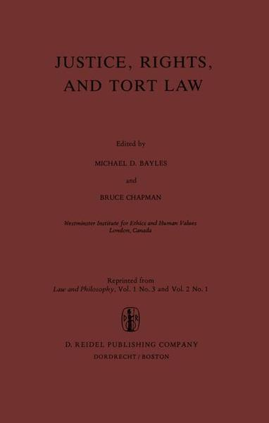 Justice, Rights, and Tort Law | Dodax.at