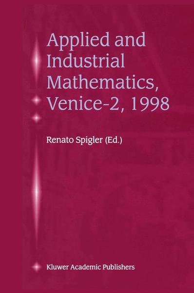 Applied and Industrial Mathematics, Venice-2, 1998 | Dodax.at