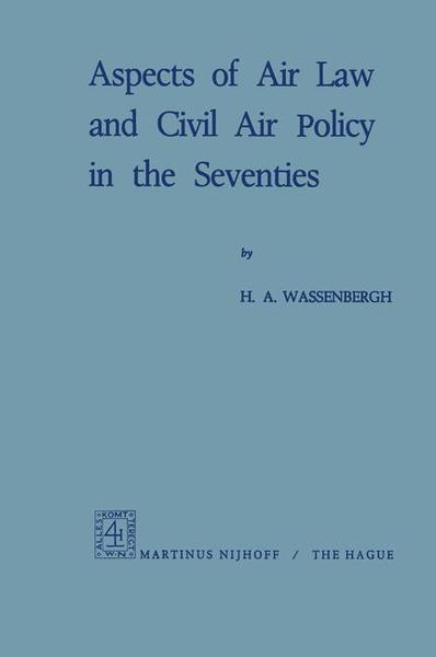 Aspects of Air Law and Civil Air Policy in the Seventies | Dodax.pl