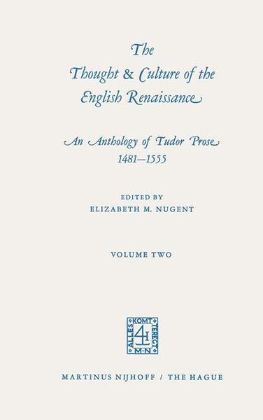 The Thought & Culture of the English Renaissance | Dodax.pl