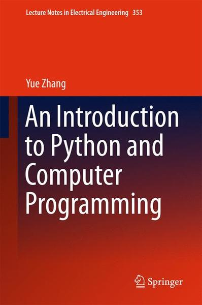 An Introduction to Python and Computer Programming | Dodax.ch
